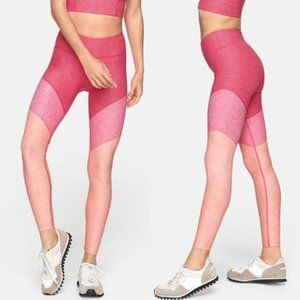 Outdoor Voices Pink Colorblock Springs Leggings S